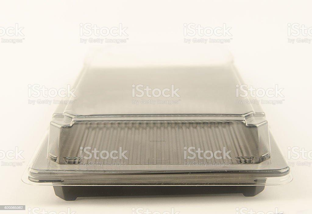 Recipiente de plástico para alimentos foto de stock royalty-free