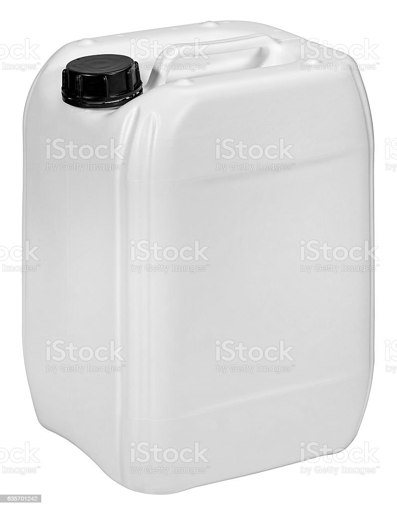 plastic container isolated on white background royalty-free stock photo
