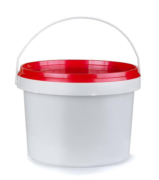 plastikbehälter - kunststoff behälter bemalen streichen stock-fotos und bilder