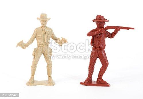 istock Plastic Cowboys 511855428