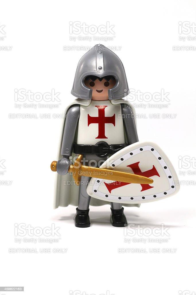 Plastic Crusader royalty-free stock photo