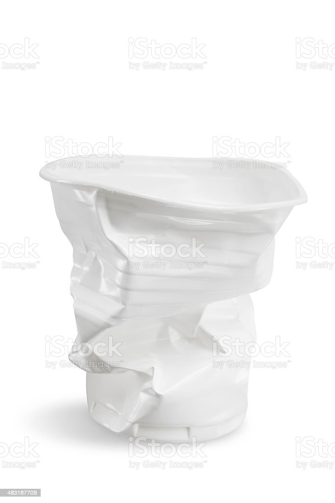 Plastic cup royalty-free stock photo