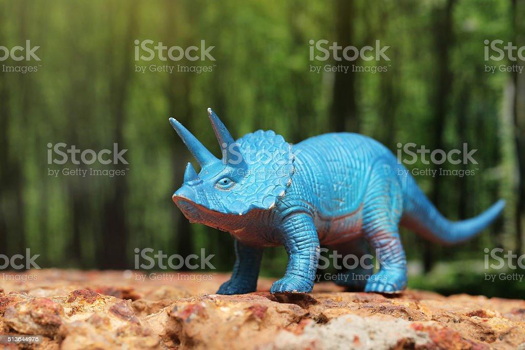 Plástico brinquedos de dinossauro - foto de acervo