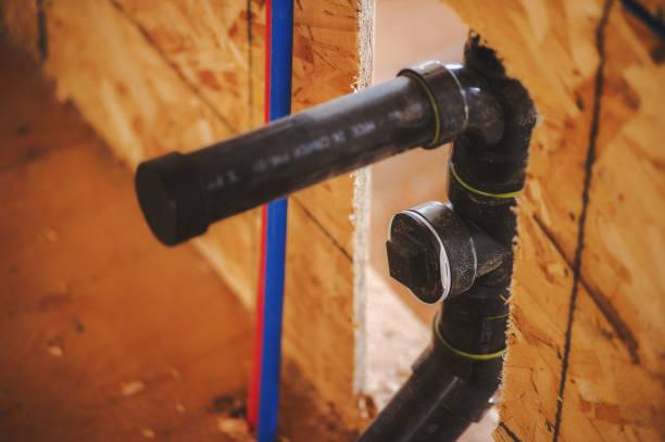 Kunststoff-Entwässerungswasserleitungen – Foto