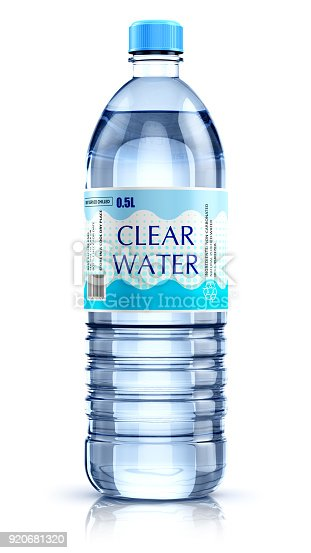 istock Plastic drink water bottle 920681320