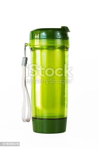 istock Plastic drinking water bottle travel 578095078