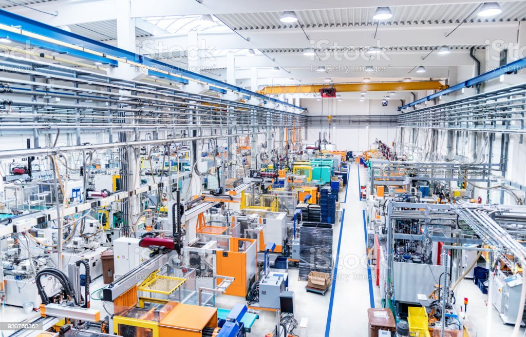 Kunststoff-Fabrik & Maschinen – Foto