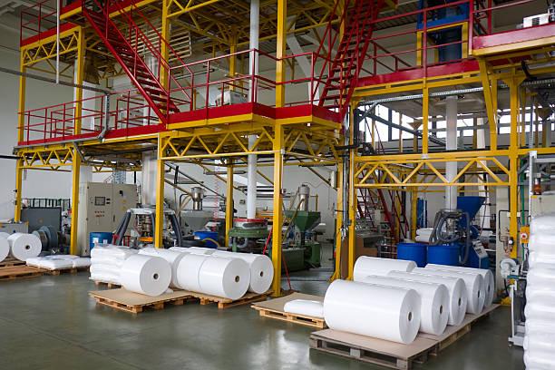 Kunststoff-Fabrik – Foto