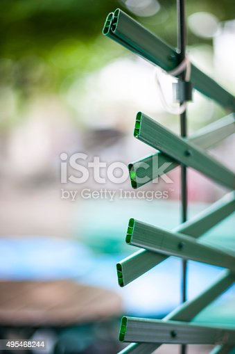 Plastic Fence Stock Photo & More Pictures of 2015