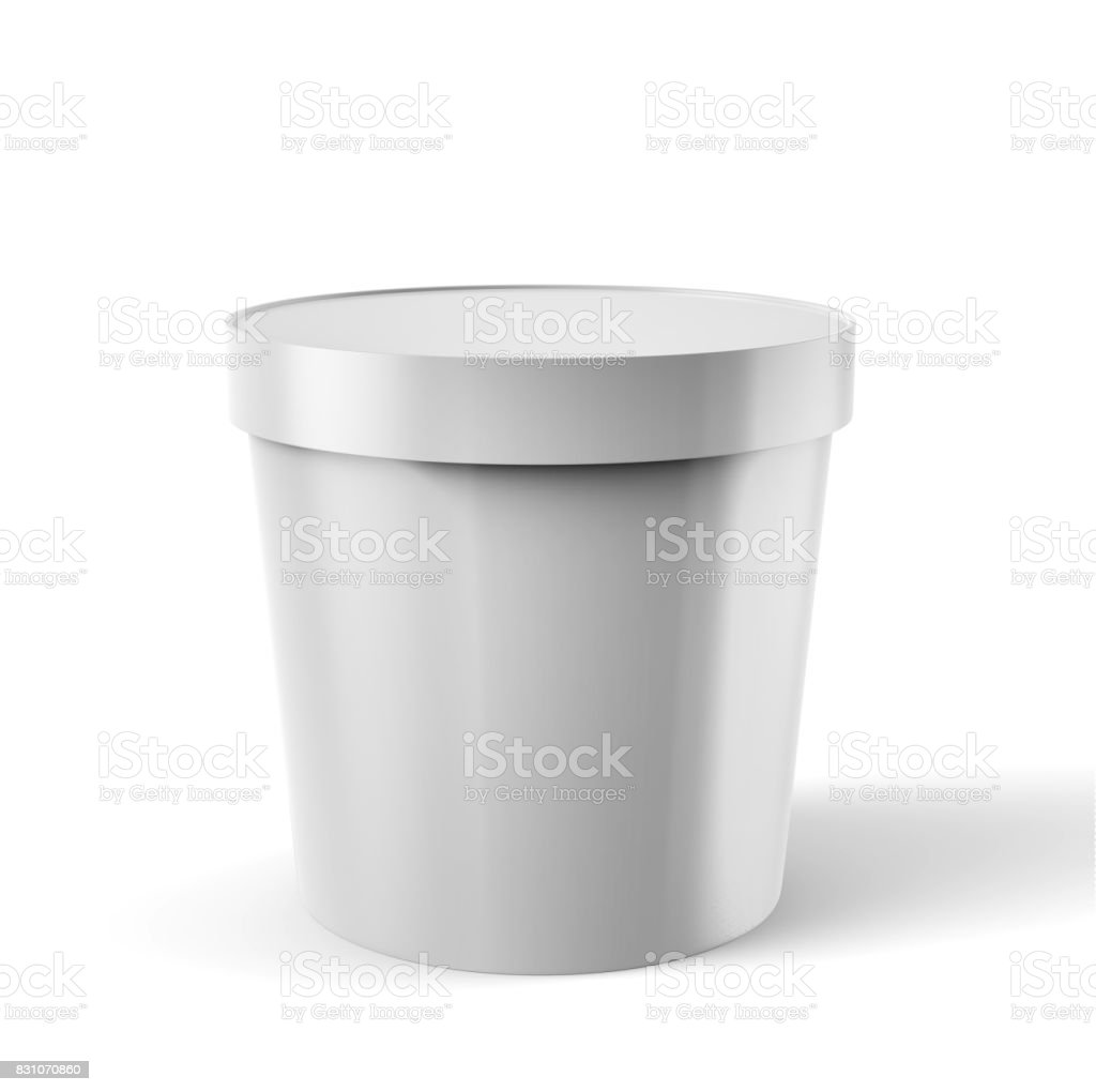 Plastic Food Container stock photo