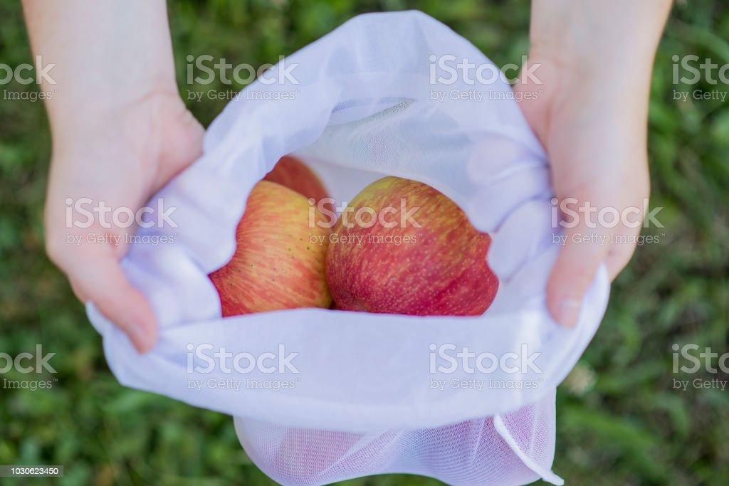Plastic Free Produce stock photo
