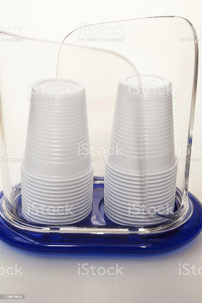 Plastic glass royalty-free stock photo