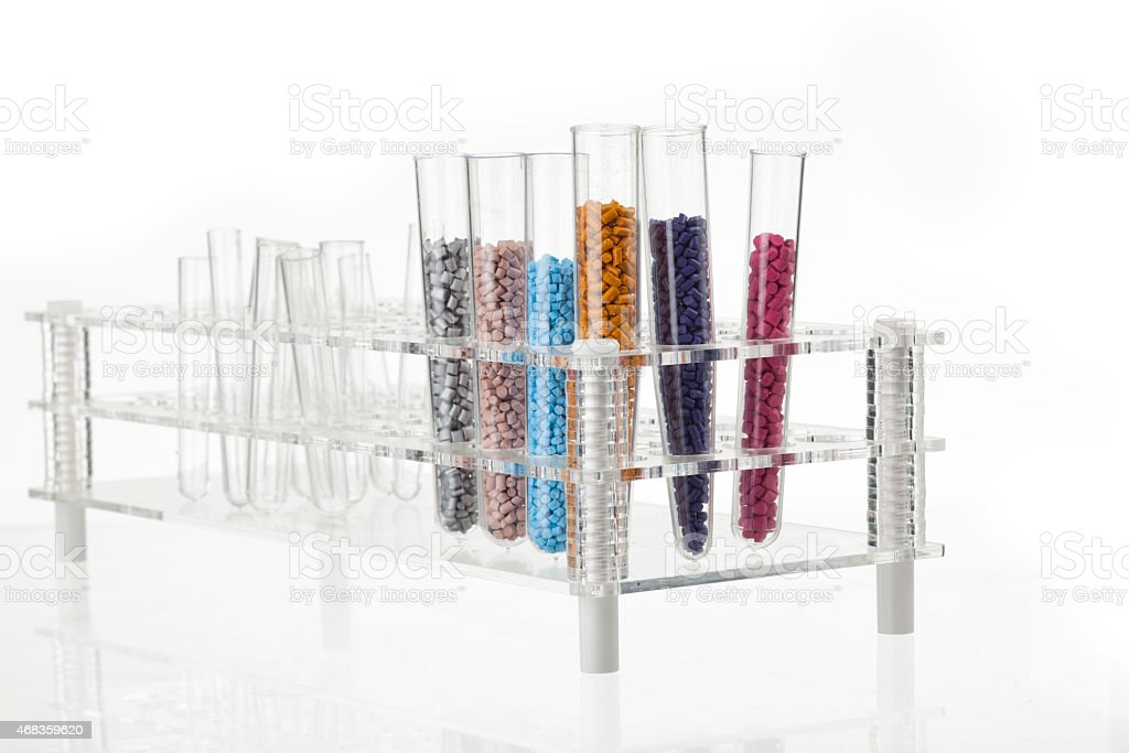 plastic granules royalty-free stock photo