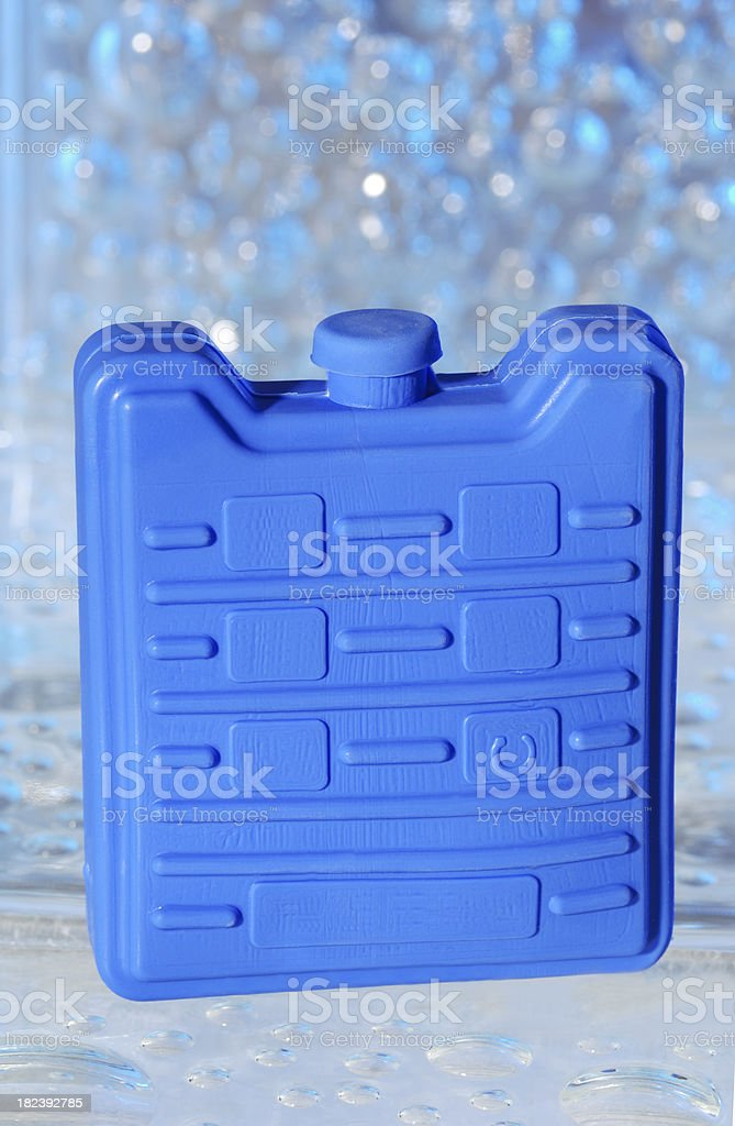 Plastic ice pack. royalty-free stock photo