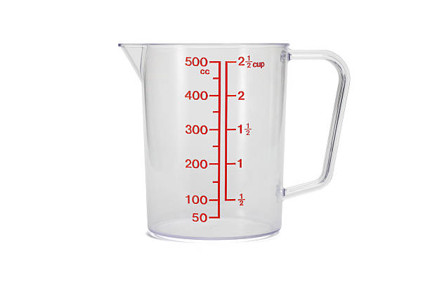 Plastic kitchen measuring cup  dry measure stock pictures, royalty-free photos & images