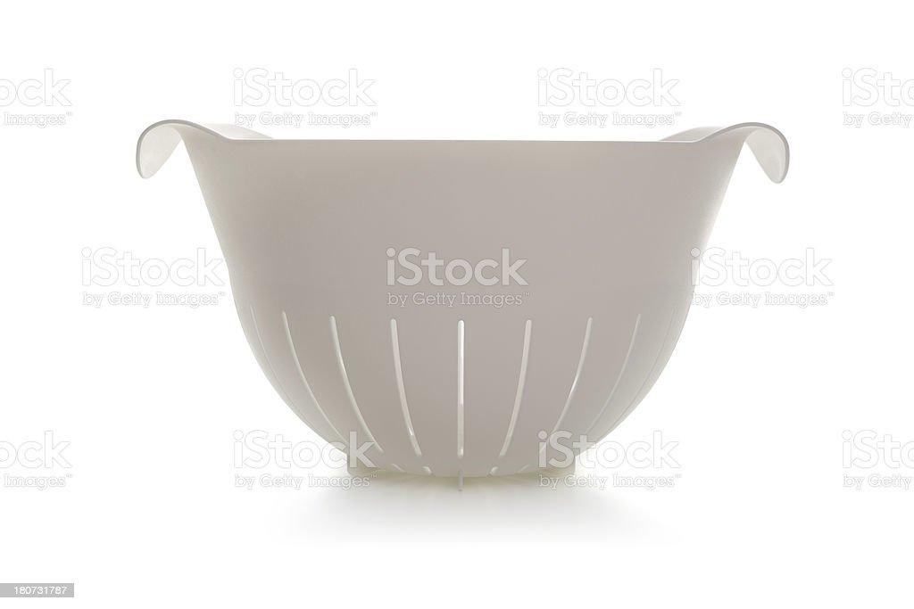 plastic kitchen sieve royalty-free stock photo