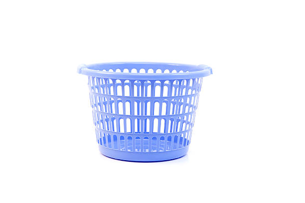 Plastic laundry basket  laundry basket stock pictures, royalty-free photos & images