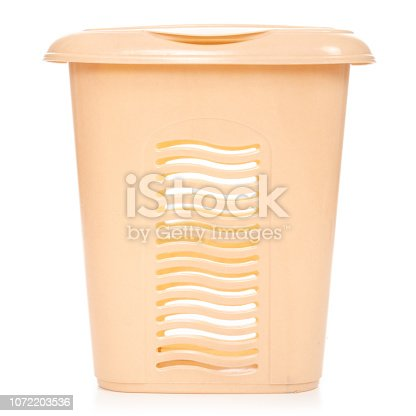 460589747 istock photo Plastic laundry basket 1072203536