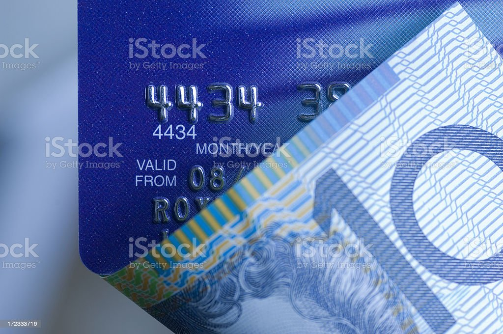 Plastic Money stock photo