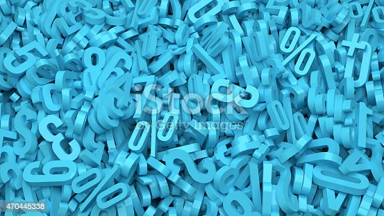 istock Plastic Numbers 470445338