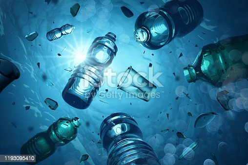 istock Plastic Ocean Pollution And Microplastics 1193095410