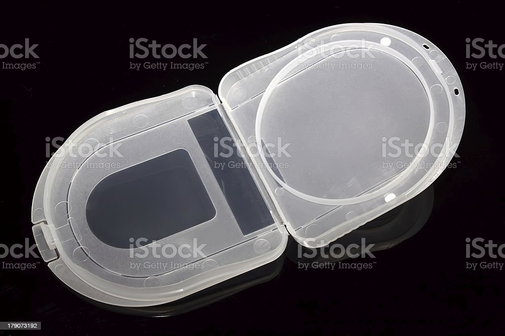 plastic packing box royalty-free stock photo