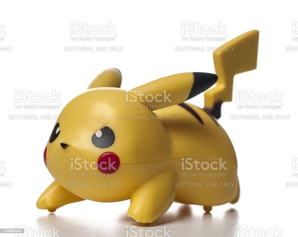 plastic pikachu pokémon character stock photo