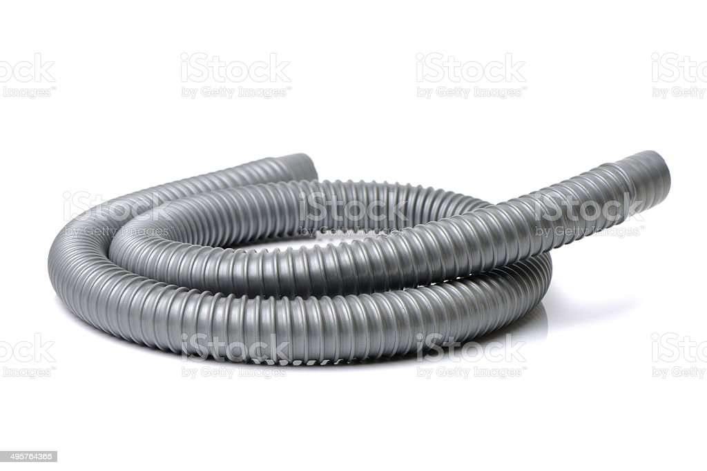 plastic pipe and materials for constructions stock photo