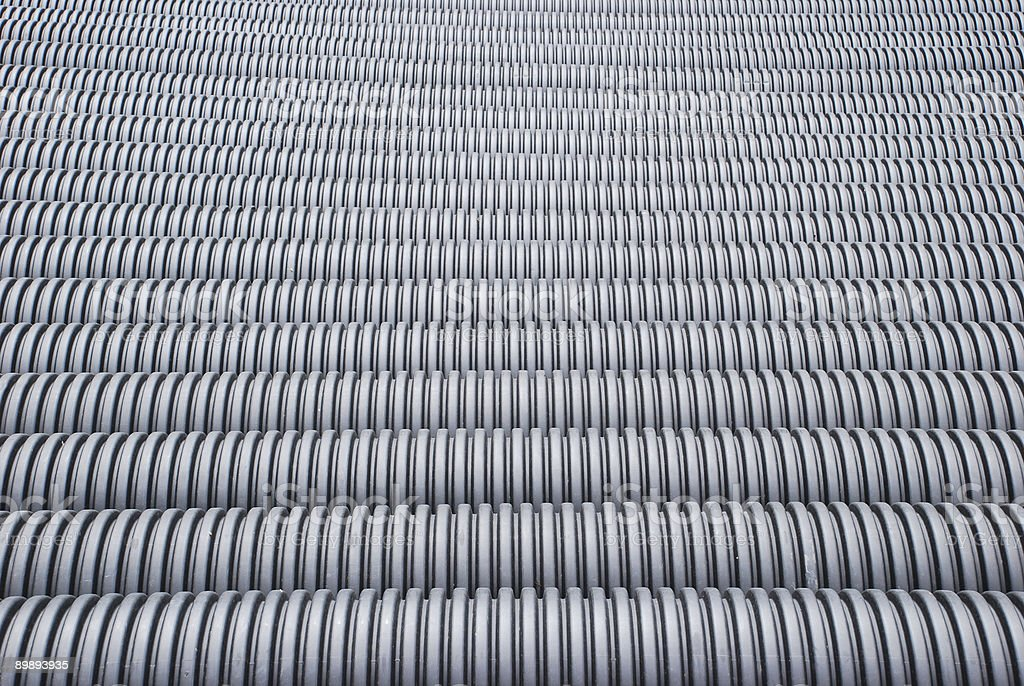plastic pipes royalty-free stock photo