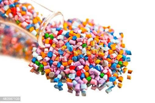 688536850 istock photo plastic polymer granules 482587103