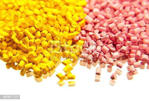688536850 istock photo plastic polymer granules 482617727