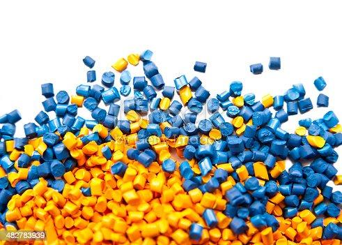 688536850 istock photo plastic polymer granules 482783939