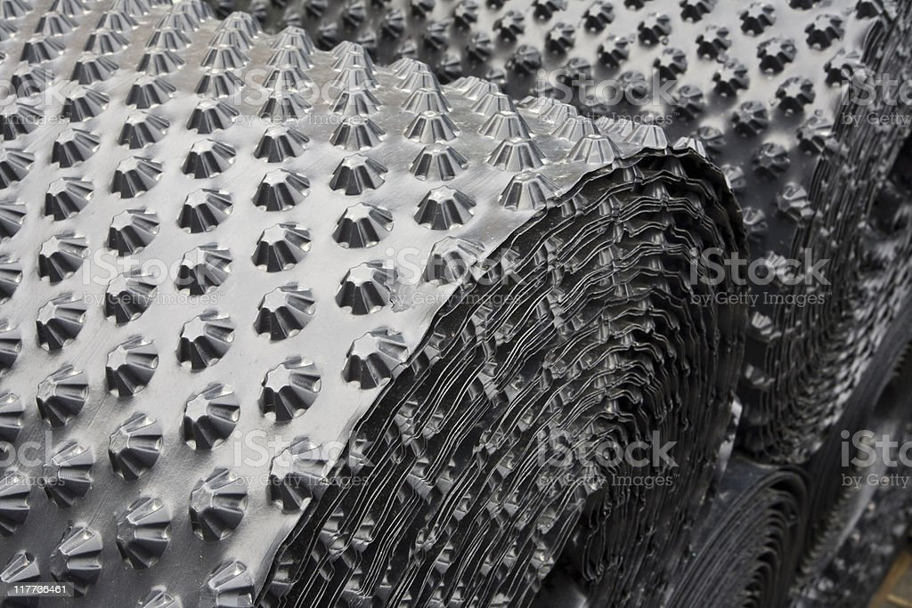 Plastic sheets royalty-free stock photo