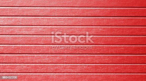 Plastic Siding Wall Texture In Red Color - Stockowe zdjęcia i więcej obrazów Abstrakcja