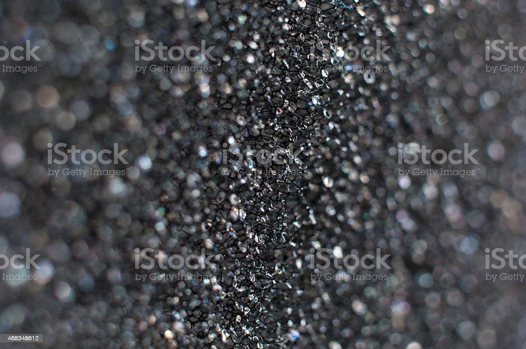 Plastic sponge background closeup royalty-free stock photo