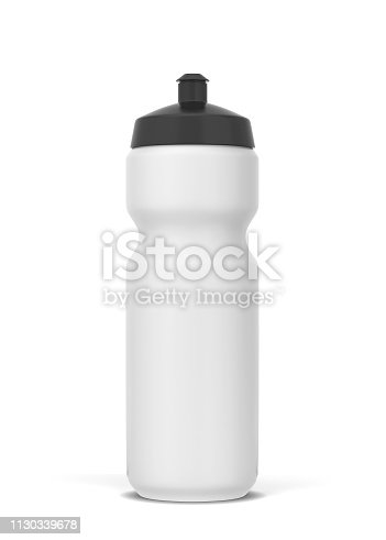 istock Plastic sport bottle for water and other drinks 1130339678