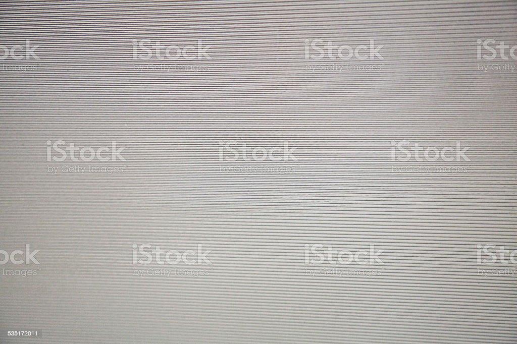 Plastic stripes parrallel lines semi translucent glass stock photo