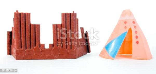 istock Plastic Tepee and Fort 511855434