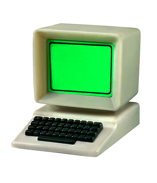 Plastic Toy Computer stock photo