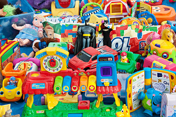 plastic toys - toy stock pictures, royalty-free photos & images