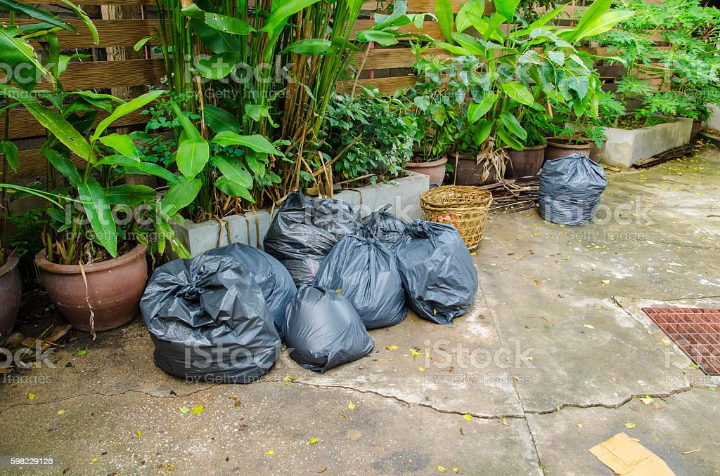 Plastic Trash foto royalty-free