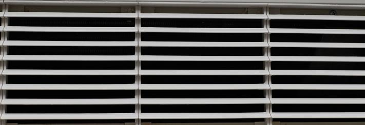 plastic ventilation Air grid close up