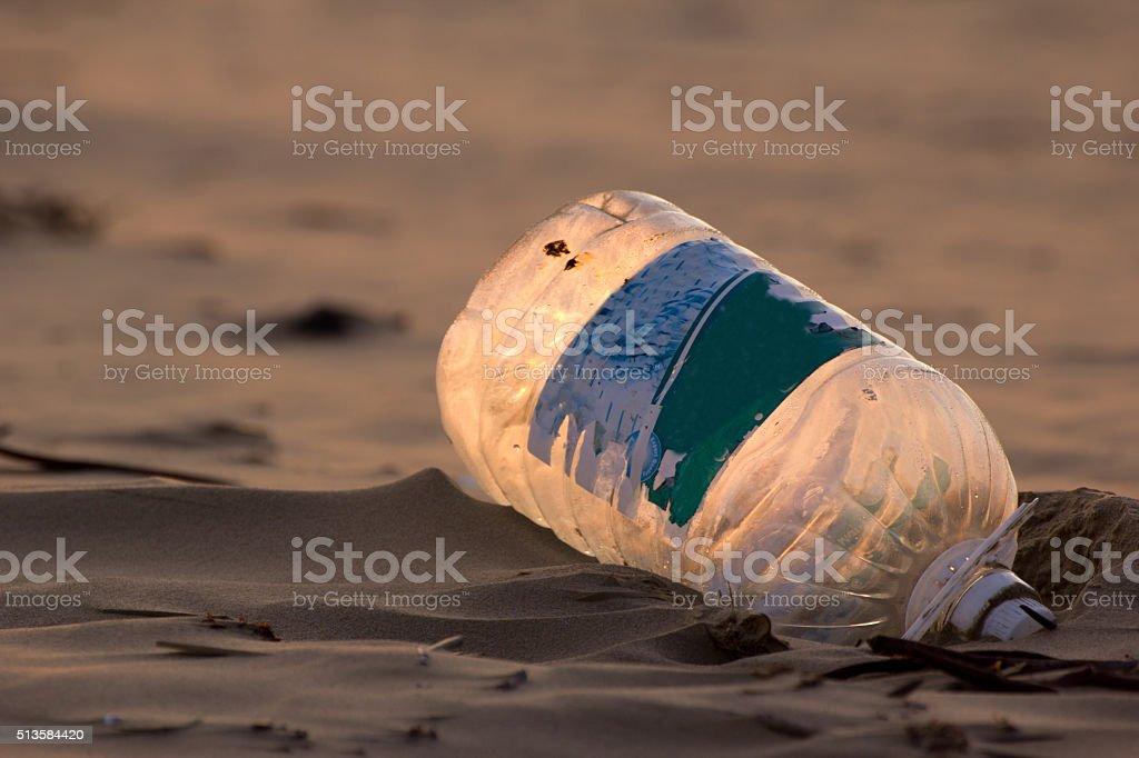 Plastic waste stock photo
