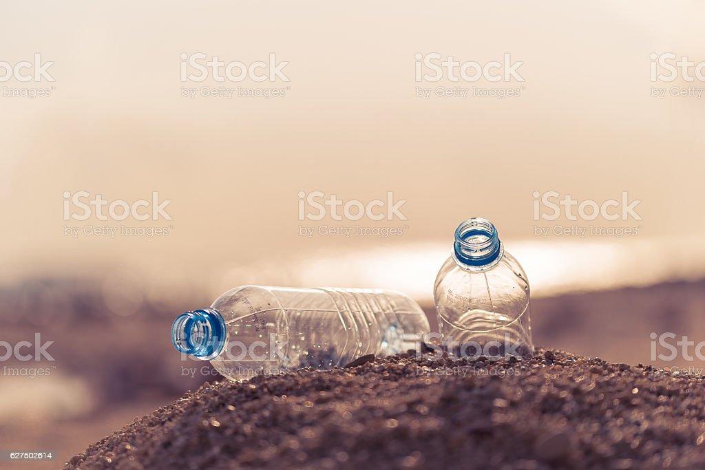 Les déchets de plastique - Photo