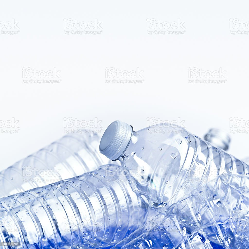 Plastic water bottle royalty-free stock photo