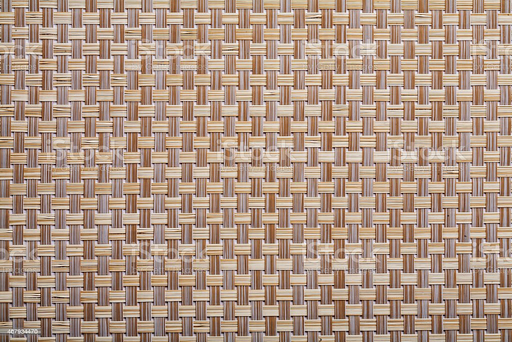 plastic wicker woven texture background close up stock photo