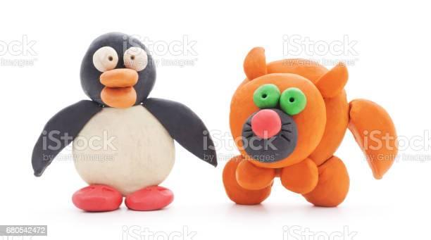 Plasticine cat and penguin picture id680542472?b=1&k=6&m=680542472&s=612x612&h=lechdk0pjmtq1pfomumqzvwnbwm39b7cgfhuytoi wk=