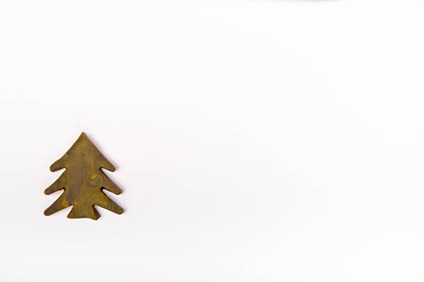 plasticine árbol de navidad - foto de stock