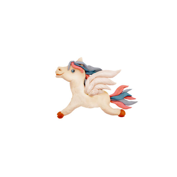 Plasticine flying horse pegasus sculpture 3d rendering isolated on picture id928221696?b=1&k=6&m=928221696&s=612x612&w=0&h=on7ilcbvw ervbmw0oraskex7bhwdmys chwbl9xkns=