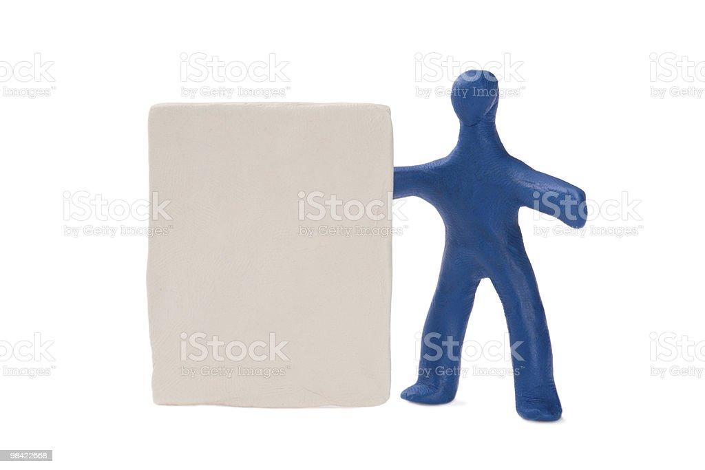 plasticine holder royalty-free stock photo